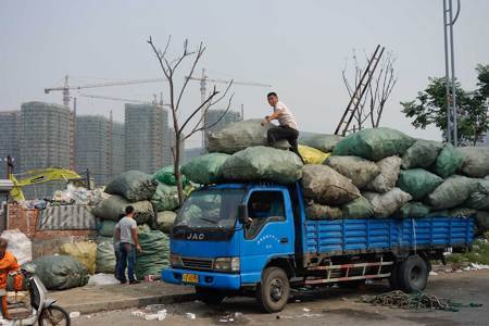 Recycling. Hangzhou, China 2013